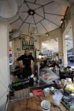 Tel Aviv - Rothschild kiosk turned street cafe
