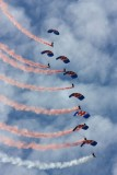 Falcons - RAF Parachute Display Team