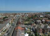 view from top of Withernsea lighthouse