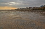 Bridlington beach in January 2