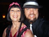 Westside Wilma and Don Hedo as they relinquish the title of most recent newlyweds