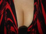 Flaming boobs