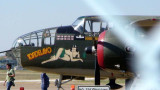 Front view of the B-25J