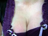 Purple cleavage.  No, it's not Vandor