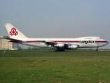 B747-200C  LX-ACV