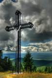 La croix du mont-St-Joseph  à  Mégantic