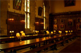 Dining Hogwart-style at New College, Oxford