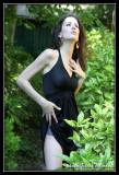 Schiele, scamp in the garden (lingerie & nude)