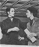 Roger with Issey Miyake