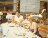 Phillip Anni Kathy in the Munich Mountains 1976.