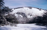 Stone Mountain NC In the Winter