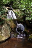 Waterfalls (NO. 5) on No Name Creek in Stone Mountain State Park NC.