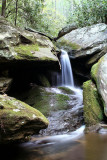 Waterfalls (NO. 7) on No Name Creek in Stone Mountain State Park NC.