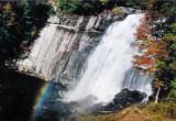 Rainbow Falls NC. 150 Ft.