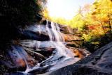Upper Creek Falls  NC 50 Ft. In the Fall