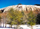 Stone Mountain Winter.