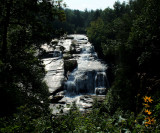 High Falls On the Little River In DuPont State Forest NC. 100 Ft.