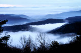 Picture Made 12/16/08 Around sunset from Blue Ridge Park Way NC.