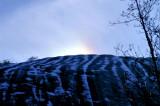 Sun Dog over Stone Mountain NC.