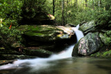 New Pictures of Falls No. 7 On No name Creek, Got some water on it for a chang