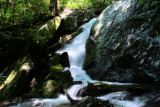 New Pictures of Falls No. 4 On No name Creek, Got some water on it for a chang