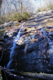 Garden Creek Falls, NOV. 27, Water Was Very Lowe