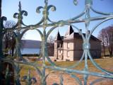 the chateau at lac de Vassivière