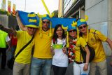 With Swedish Fans