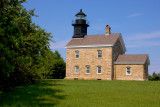 Old Field Lighthouse, built 1868, Old Field, NY