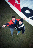 On the Ground After the Paraglide