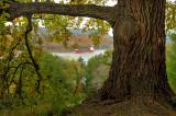 Hudson River from the Vanderbilt Mansion, Hyde Park, NY