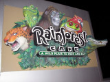 Rainforest Cafe - I liked the sign!!