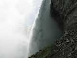 View of the falls from Behind the Falls
