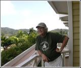 Sur le balcon de ma chambre au Gamboa Rainforest Resort
