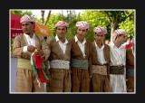 Kurdish dance troup