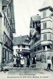 Dorfstrasse mit Hotel Roessli