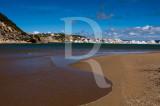 A Praia de Salir na Baía de São Martinho