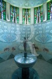 O Baptistério da Igreja de Fátima
