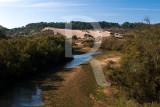 O Rio Tornada e a Duna Grande