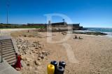 A Praia do Moinho e o Forte de São Julião da Barra