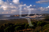 Nazaré Vista da Serra da Pescaria