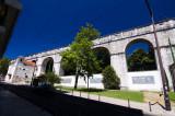 O Aqueduto Junto ao Jardim das Amoreiras