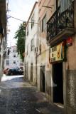 Os Amigos da Severa, ao lado da casa onde viveu a fadista