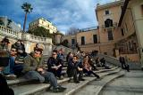 Hanging out on the Spanish Steps.jpg