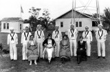 1921 - Naval Air Station Miami Beach Group personnel and wives