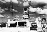 1941 - air trafffic control tower at Miami Municipal Airport, Dade County