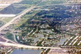 Early 1980's - aerial photo of Miami Lakes