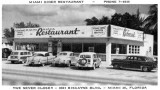 Mid 1950's - the Miami Diner at 8301 Biscayne Boulevard, Miami 38, Florida