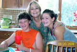 2008 - former YN2 Karen Sherfick McKibben with her great-nephew and great-niece
