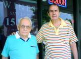 2008 - retired long-time Hialeah High School coaches Mike Feduniak and Chuck Mrazovich
